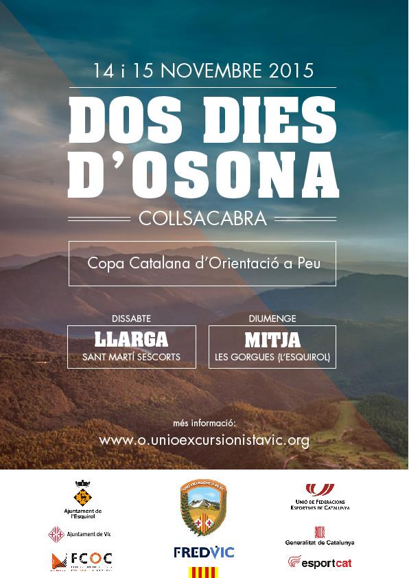 Copa catalana de curses d'orientació