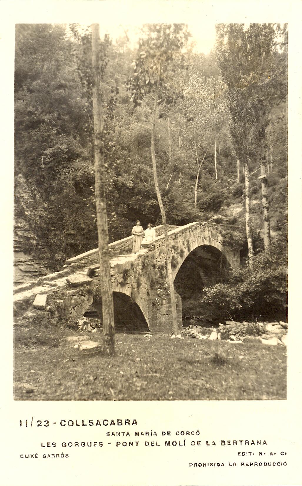 Pont del molí de la Bertrana