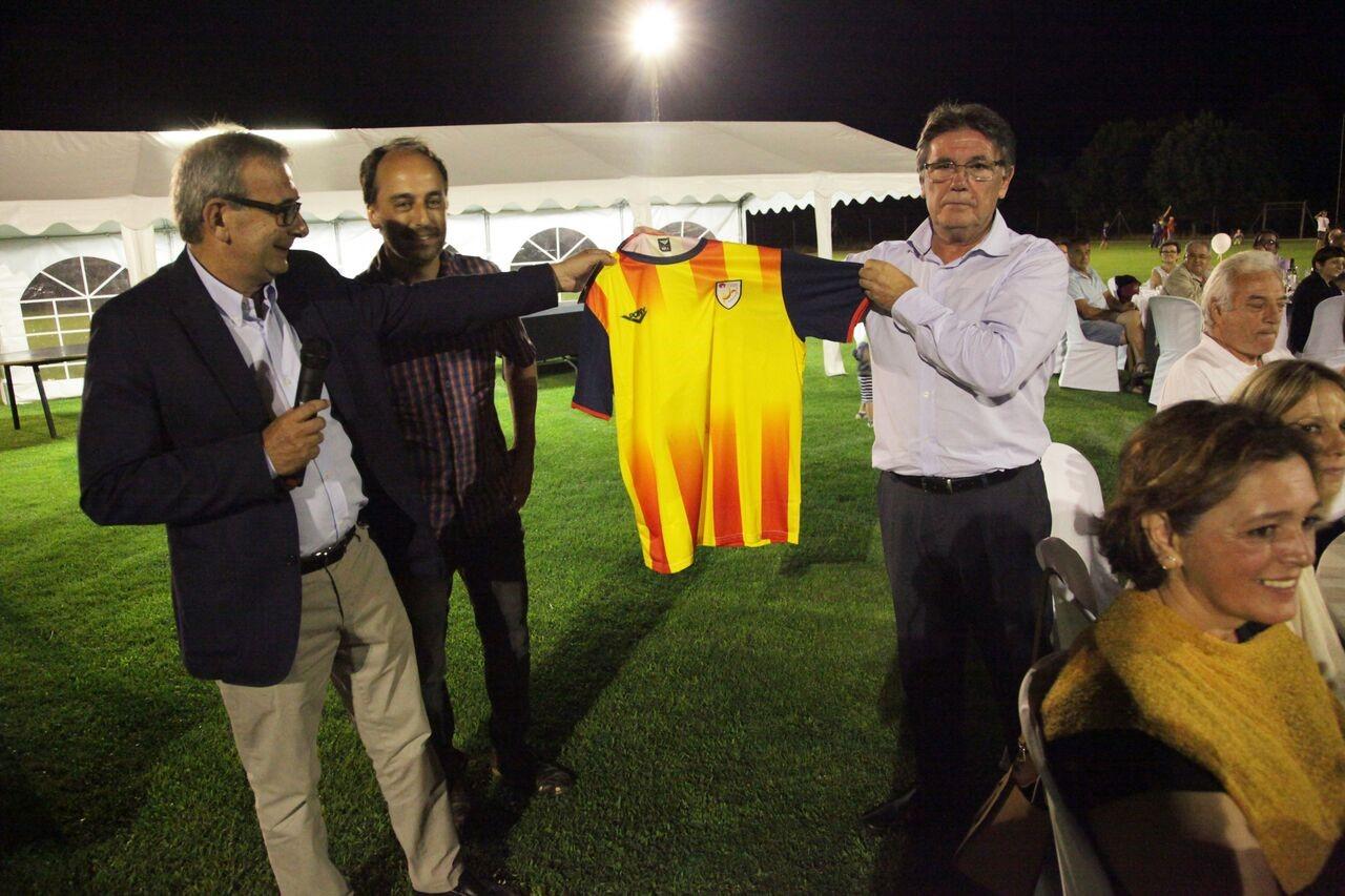 Entrega samarreta selecció catalana